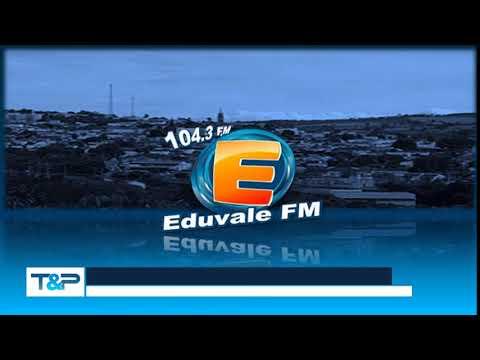 Prefixo - Eduvale FM - 1043 MHz - Sarutaiá-PirajuSP