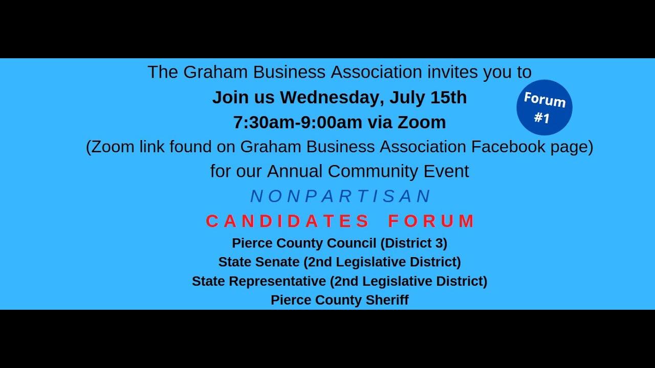 Graham Business Association Candidate Forum