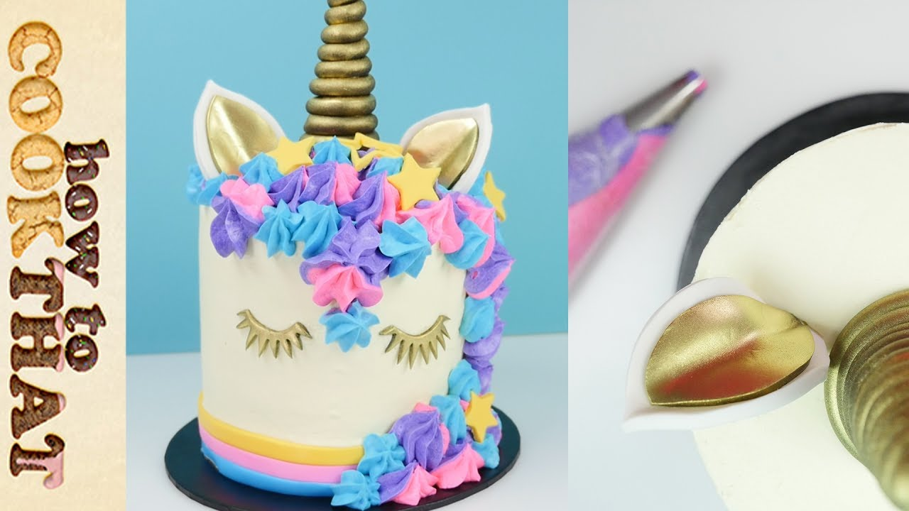 How To Make A Unicorn Cake Easy