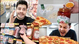 La PIZZA de $600 DE 8 PISOS !!! | Benshorts