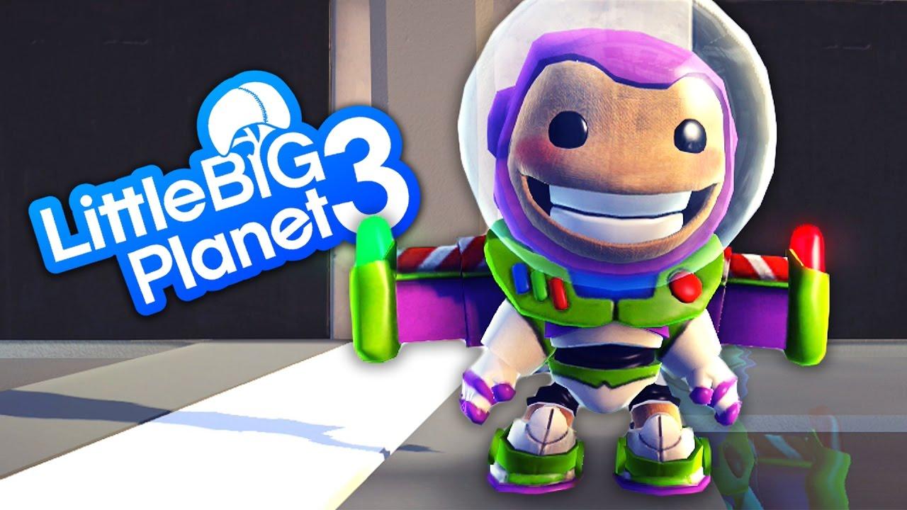 Uncategorized Buzz Lightyear Videos littlebigplanet 3 run sackboy with disneys toy story buzz lightyear