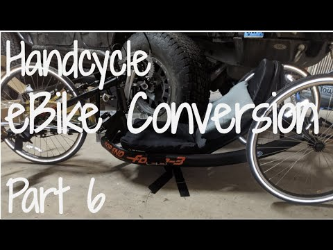 Download DIY ebike Conversion Kit Details (Crystalyte Hub Motor): Handcycle eBike Conversion Journey Part 6