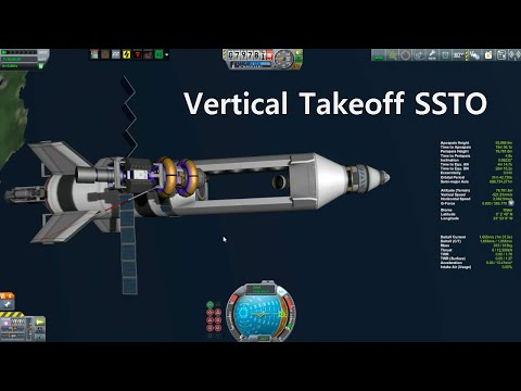 KSP Beta Career: Episode 22 - Vertical Takeoff SSTO