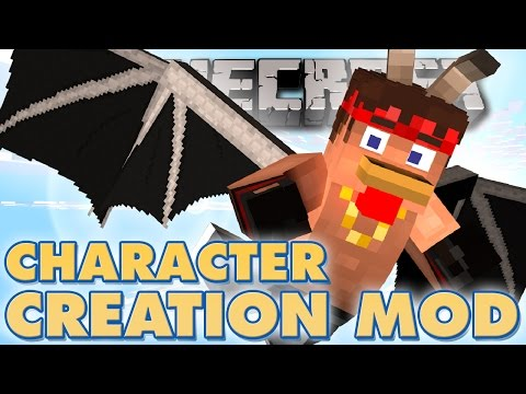 Minecraft Mods - COOL CHARACTER CUSTOMISATION - More Player Models Minecraft Mod (Minecraft Mods)