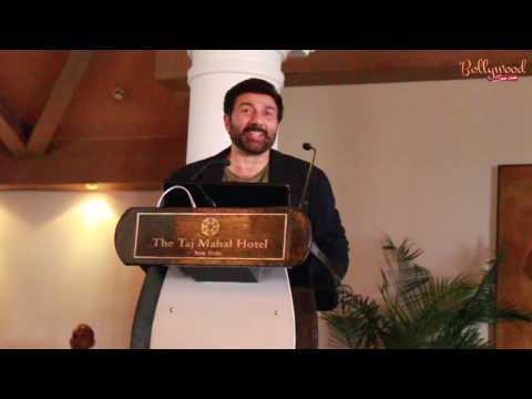 """""""Ghayal Once Again"""" World Television Premiere  Press Conference With """"Sunny Deol"""""""