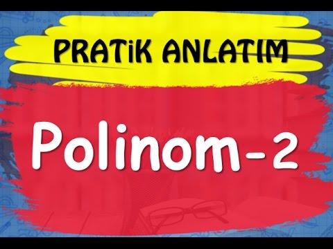 POLİNOMLAR - 2.Video | Konu-Soru Çözümü | YKS(TYT) Matematik | Abdül Aziz Gürbüz