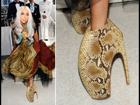 Lady Gaga Tall Shoes