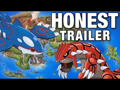 POKEMON RUBY AND SAPPHIRE (Honest Game Trailers)