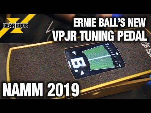 NAMM 2019 - ERNIE BALL'S NEW VP JR TUNING AND VOLUME PEDAL   GEAR GODS