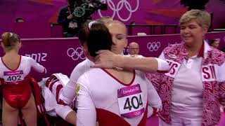 Russia Team Finals UNEVEN BARS UB @ 2012 London Olympic Games