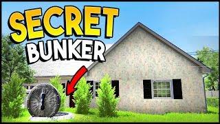 HIDDEN SHELTER BUNKER MAKES US A TON OF MONEY! - House Flipper Gameplay