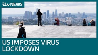 Coronavirus: California is in lockdown with 40 million ordered to stay home | ITV News