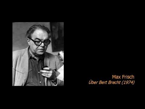 Max Frisch - Über Bert Brecht (1974)