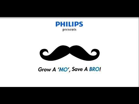 """Philips Movember - Grow a """"MO"""", Save a BRO!"""