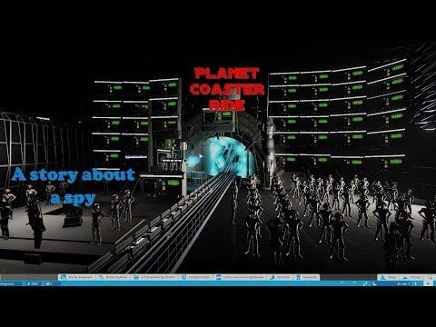 A BIG! story about a spy / Planet Coaster Ride (Mega Coaster) |