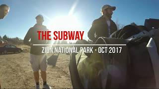 The Subway Hike - Zion National Park