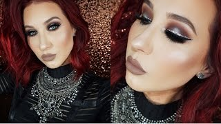 Halo Smokey Eye with Glitter Liner  | Jaclyn Hill by : Jaclyn Hill