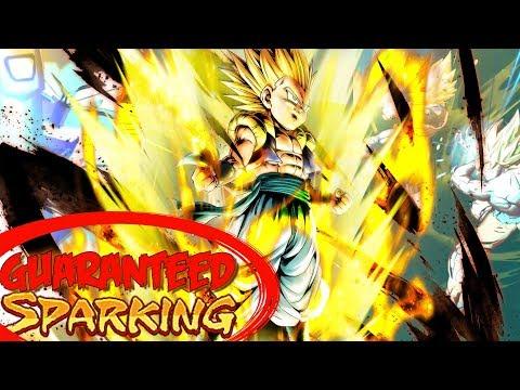 Guaranteed Sparking Tickets!! Gotenks & Majin Buu Summons   Dragon Ball Legends