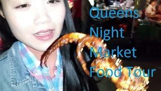 Queens International Night Market Food Tour  (2015