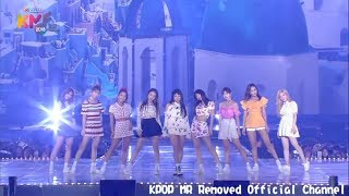 Gambar cover [MR Removed] 180801 TWICE (트와이스) - Dance The Night Away [2018 Korea Music Festival]