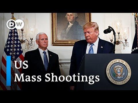 Analysis: Trump's statement on US mass shootings   DW News