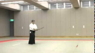 Koji YOSHIDA Nishio-ryu Iaido (Toho Iai no7)
