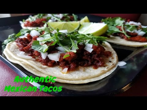 How to make Authentic Mexican Tacos Al Pastor & Chorizo