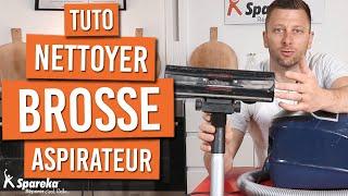 Comment nettoyer une brosse d'aspirateur