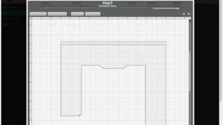 3DCountertop Quote: drawing a U-shape countertop