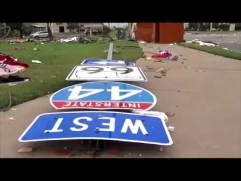 Tornado destroys many buildings in Tulsa