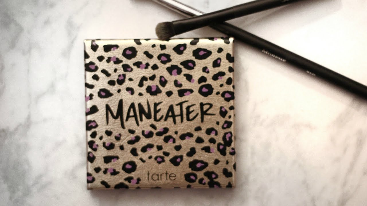Tarte Maneater Palette Review - YouTube
