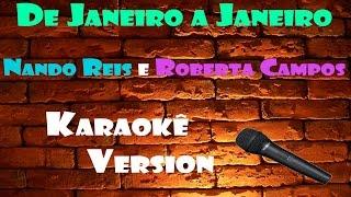 Baixar Karaokê De Janeiro a Janeiro - Nando Reis e Roberta Campos (Ótima Qualidade)