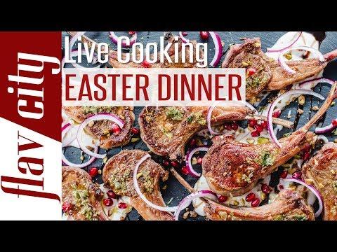 🔴 Let's Make Easter Dinner