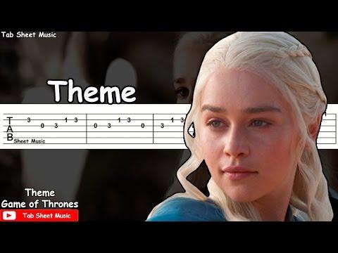 Game of Thrones - Theme Guitar Tutorial