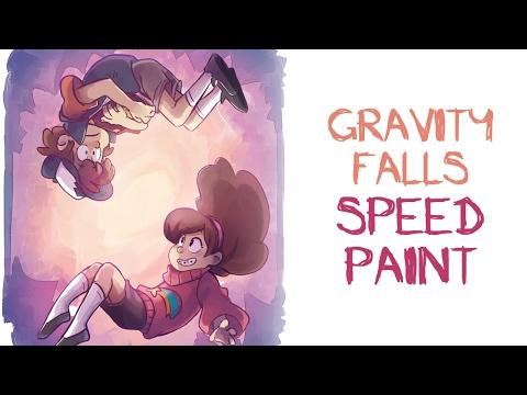 Gravity Falls Speedpaint