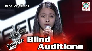 the voice teens philippines blind audition sophia ramos stone cold