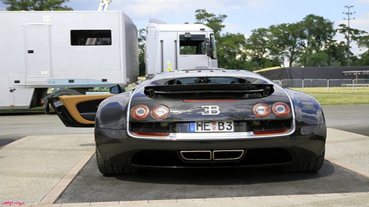 Bugatti Veyron SS Top Speed Run (263mph) - YouTube