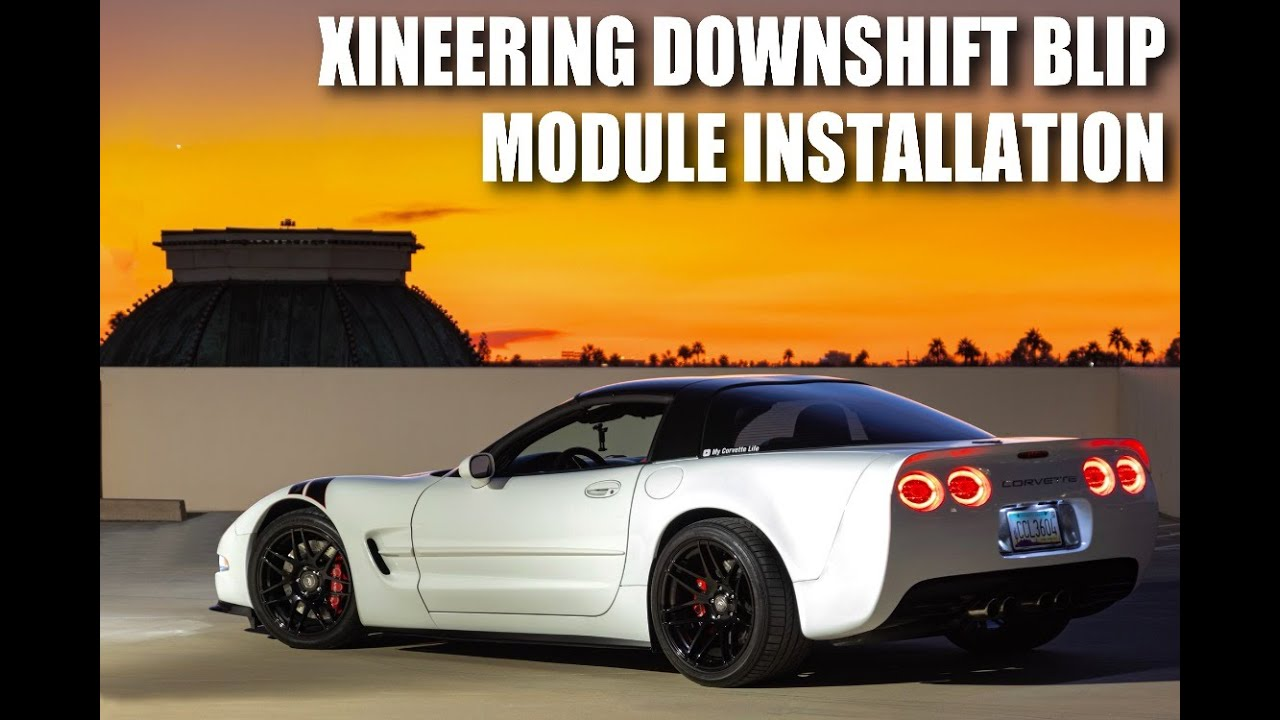 Xineering Downshift Blip Module Installation