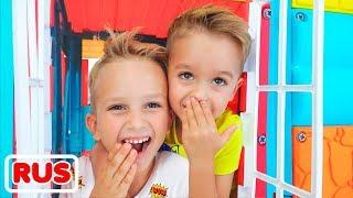 Влад и Никита играют в прятки | Подборка видео для детей