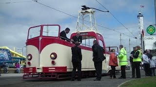 Bank Holiday Blackpool Heritage Trams + Red Arrows Display - 25th May 2015