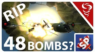 48 BOMBS RIP Plane!! | Simple Planes | Pt 10 Mp3