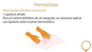 5 2 La hemostasia