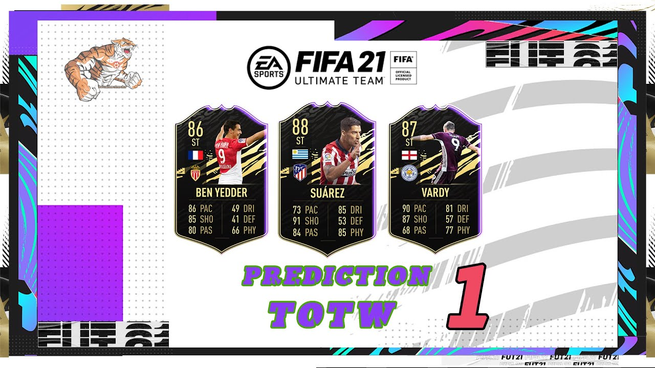 FIFA 21: Predictions Team of the Week 1 #TOTW1