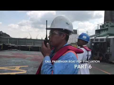 East Marine - Atlas Emergency Oil Spill and Medical Evacuation Drill
