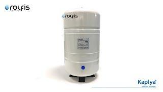 Обзор накопительного бака ➠ Kaplya SPT-100W ➠ бак 28 литров для обратного осмоса