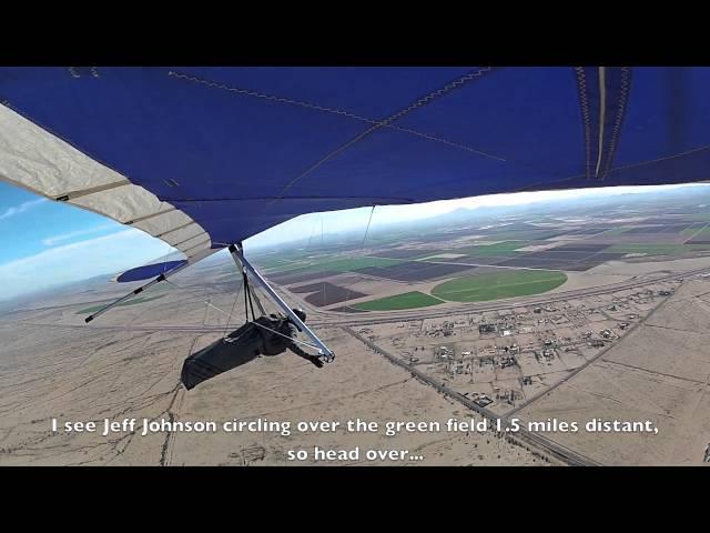 Aero Tow Hang Gliding near Maricopa, AZ 2-3-12. A film by Greg Porter