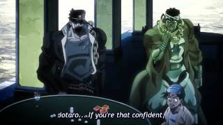 if you d like to make a call jotaro vs d arby