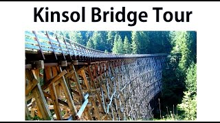 Touring The Kinsol Trestle - A Woodworkweb.com Woodworking Video