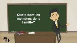 Урок французского языка 12 с нуля для начинающих: Ma famille (моя семья)-часть 1