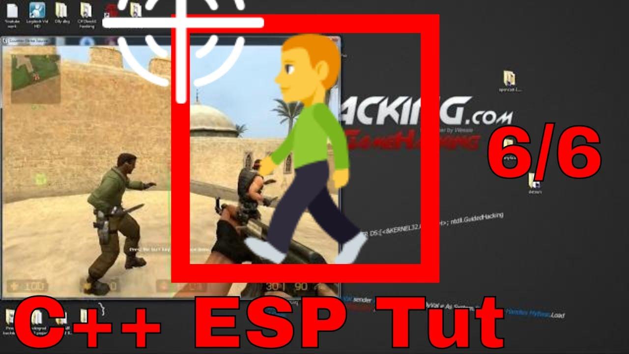 How To Make An ESP Hack TUTORIAL C++ Pt 6/6